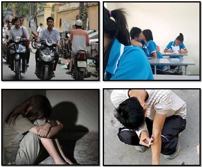 Xã hội nhiều tệ nạn khiến con cái chúng ta dễ mắc phải